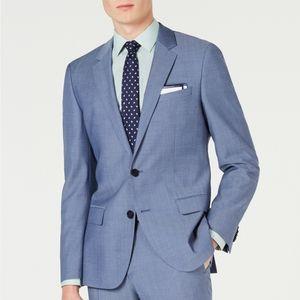 Hugo Boss Men's Slim-Fit Pin-Dot Suit Jacket 38S